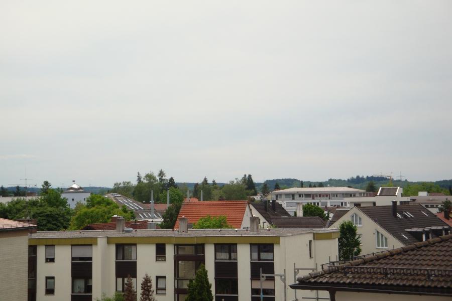 Blick über den Dächern