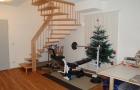 Hobbyraum-Treppenabgang