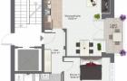 2 Zimmer Wohnung 1. OG rechts