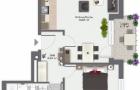 2 Zimmer Wohnung 2. OG rechts