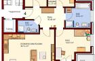 1. Obergeschoß Wohnung Nr. 4