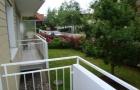 Balkon mit Blick in die Anliegerstr.