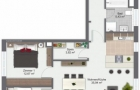 3 Zimmer Wohnung 2. OG rechts