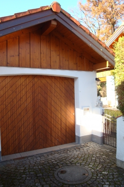 Garage + Eingang
