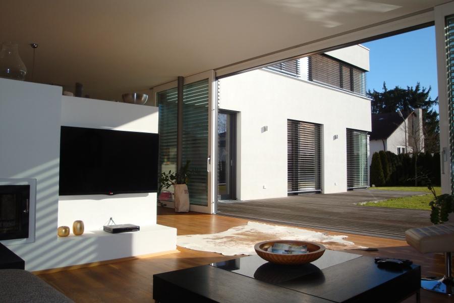 Blick v. Wohnzimmer
